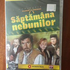 SAPTAMANA NEBUNILOR – Colectia FLORIN PIERSIC (Adevarul) Nr 4 IN TIPLA! + ALTELE, DVD, Romana