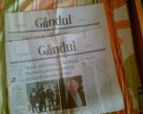 Ziare vechi de colectie Gandul nr. 2 si 3