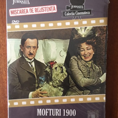 MOFTURI 1900 – JEAN GEORGESCU (Jurnalul) - Colectia Cinemateca, nr. 13 IN TIPLA!, DVD, Romana