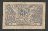 ROMANIA  2  LEI  1915    [1]  starea din imagine