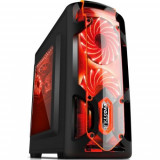 Sistem PC evoSTAR Gaming (Procesor Intel® Core™ i3-8100 (6M Cache, up to 3.60 GHz) Coffee Lake, 8GB, 1TB @7200rpm, nVidia GeForce 1050 @2GB)