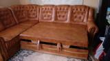 Canapea din 3 bucati extensibila+ fotoliu