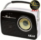 Radio portabil Akai APR-11B (Negru)