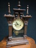 Ceas antic de colecție pentru șemineu,birou sec.19