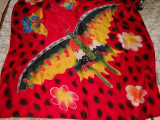 Batic splendid, pictura spectaculoasa, Multicolor