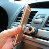 Suport magnetic pentru telefon | 360 grade | Negru