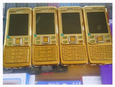 Nokia 6300 auriu reconditionat foto