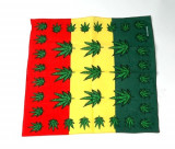Bandana Jamaica - frunze cannabis