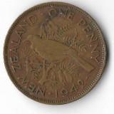 Moneda 1 penny 1942 - Noua Zeelanda, Australia si Oceania