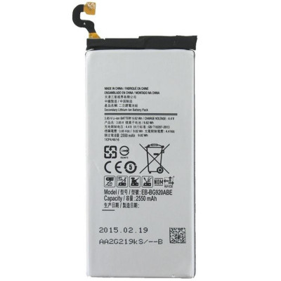 Acumulator Samsung Galaxy S6 G9200 G920f 2550mAh cod EB-BG920ABE second hand foto