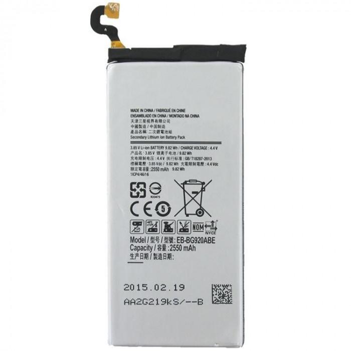Acumulator Samsung Galaxy S6 G9200 G920f 2550mAh cod EB-BG920ABE second hand