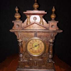 RAR!..Ceas antic de șemineu,birou muzical,perioada anilor 1800