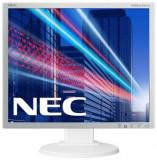 Monitor AH-IPS LED Nec 19inch EA193Mi, SXGA (1280 x 1024), VGA, DVI, DisplayPort, Boxe, 6 ms (Alb)
