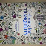 Carte de Colorat pentru Adulti si Copii 288 pagini Format A4 Abstract Flori