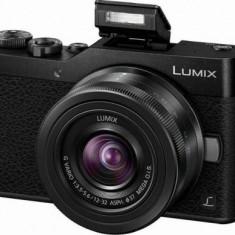 Aparat Foto Mirrorless Panasonic Lumix DC-GX800KEGK + obiectiv 3.5-22mm, 16 MP, Filmare Full HD (Negru)