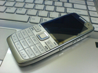 Nokia E52 alb reconditionat foto