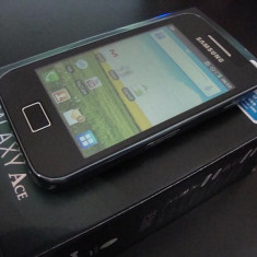 Samsung Galaxy ace MODEL S5830 / NEGRU / NOU