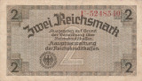 GERMANIA 2 reichsmark ND (1940-1945) VF!!!