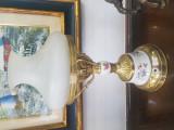 Veioza din alama cu ceramica