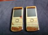 Telefon Nokia 6700 classic original reconditionat auriu nou 6700c garantie, <1GB, Neblocat
