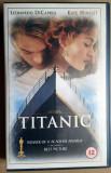 Caseta video VHS originala – Titanic, Engleza, FOX
