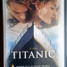 Caseta video VHS originala – TITANIC