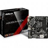 Placa de baza ASRock AB350M-HDV , microATX , AMD AM4 , Chipset B350