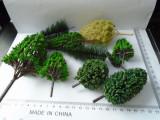 Bnk jc  Pomi pentru diorame - second hand - lot 10 bucati