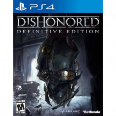 Joc consola Bethesda Dishonored Definitive Edition GOTY HD PS4