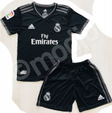 Compleu Echipament Fotbal Real MADRID RONALDO 2018-2019  pt. copii, YXL, YXS, YXXL, Set echipament fotbal