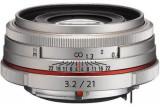 Obiectiv Foto Pentax HD DA 21mm F/3.2 AL Limited Silver