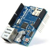 shield ethernet w5100 placa retea lan network pentru arduino uno mega due r3