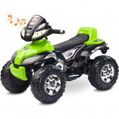 ATV Electric Toyz Quad Cuatro 6V Green, Verde