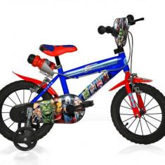 Bicicleta copii 14'' AVENGERS, Dino Bikes