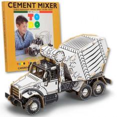 Joc creativ 3D Cement Mixer