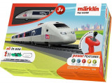 Tren de calatori cu telecomanda si accesorii TGV Starter Set, Marklin
