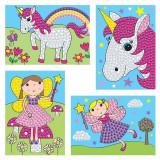 Set creativ - Zane si unicorni, Galt