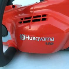 Drujba pe acumulator Husqvarna 120i Fabricație 2016 Noua