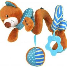 Spirala cu jucarii Blue Bear, Baby Mix