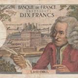 Franta  10 Francs  1966