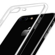 Husa iPhone 7/8 7Plus/8PLUS TPU ULTRA SLIM  0.6 mm   CALITATE, Transparent, Gel TPU, Apple