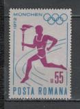 Romania.1972 Flacara olimpica  YR.546, Nestampilat