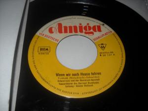 ERHARD JUZA (disc mic vechi 7, 2 piese in limba germana, Amiga rec.)