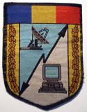 5.534 ROMANIA ECUSON MILITAR ARMATA TRANSMISIUNI/TELECOMUNICATII 87/65mm