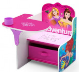 Scaun multifunctional din lemn Disney Princess Up For Adventure, Delta Children