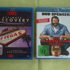 Lot 2 Filme in format Blu-ray (Piedone / Ultimate Discovery) - ca NOI, BLU RAY, Engleza