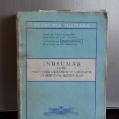 Indrumar pentru efectuarea lucrarilor de laborator la rezistenta materialelor , Teodor Nicolau , 1979