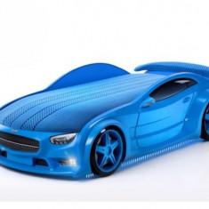 Pat masina NEO Mercedes Albastru, MyKids