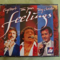 Engelbert Humperdinck / Tom Jones / Tony Christie - 3 C D Originale ca NOI