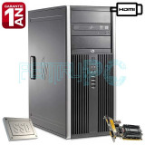 Calculator Core 2 Quad Q9505 2.83GHz 8GB DDR3 SSD 128GB SATA3 + 250GB GF210 HDMI, Intel Core 2 Quad, 8 Gb, 200-499 GB, HP